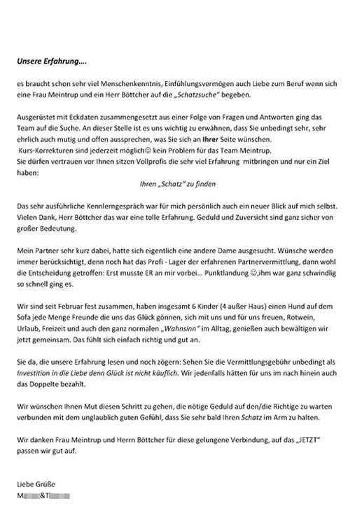 Meinestadt.de partnervermittlung